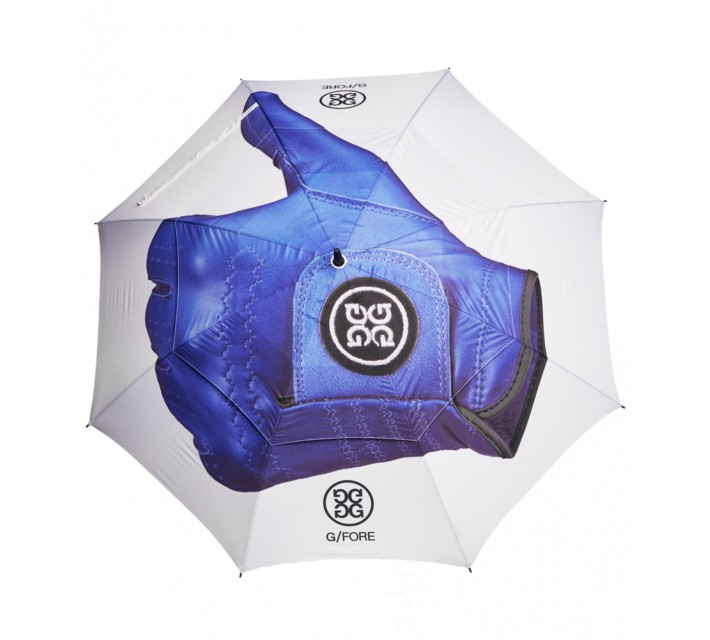G/FORE THUMBS UP GOLF UMBRELLA SNOW - AW16