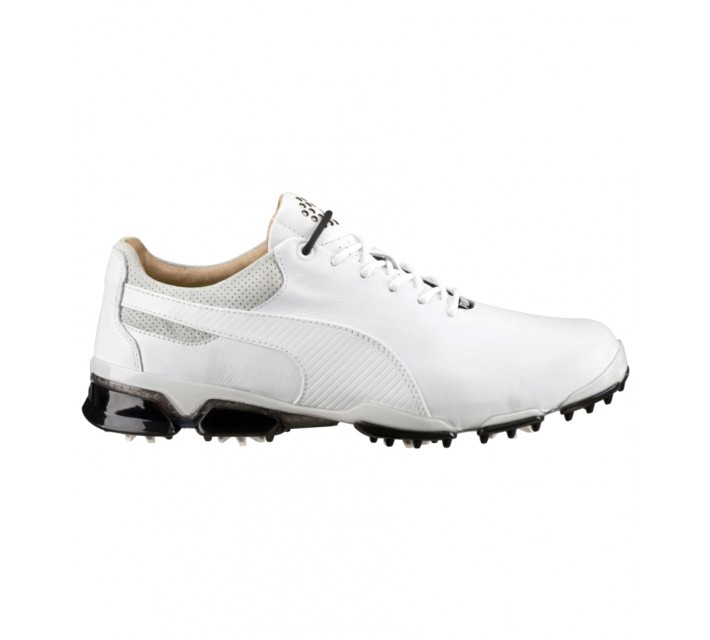 PUMA TITAN TOUR IGNITE PREMIUM GOLF SHOE WHITE/GLACIER GRAY - AW16