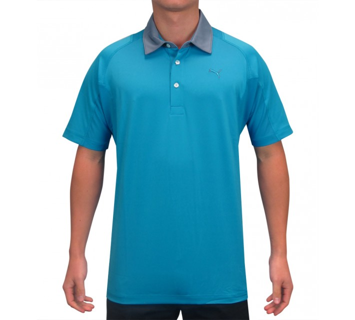 PUMA TITAN TOUR POLO HAWAIIAN OCEAN - SS15