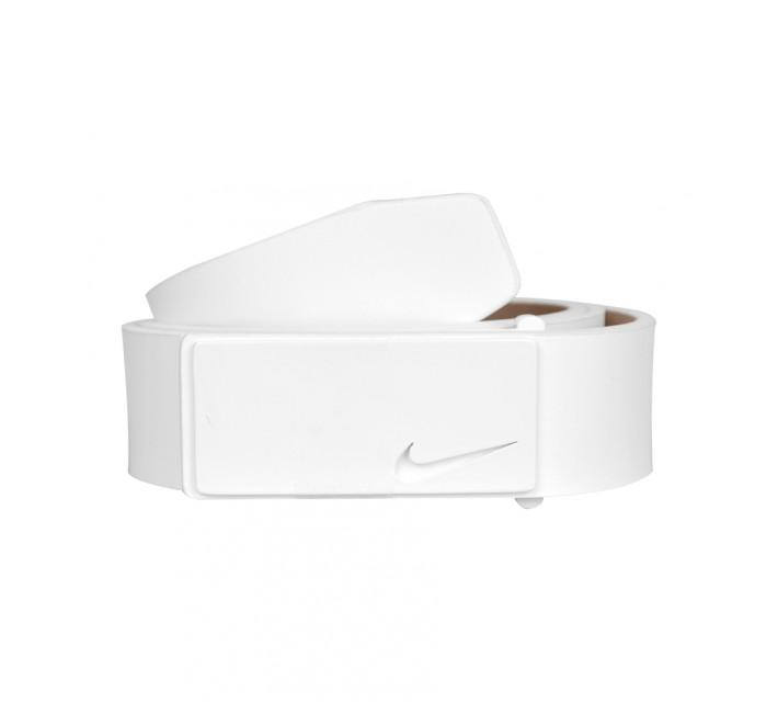 NIKE TONAL SLEEK MODERN PLAQUE BELT WHITE - AW16