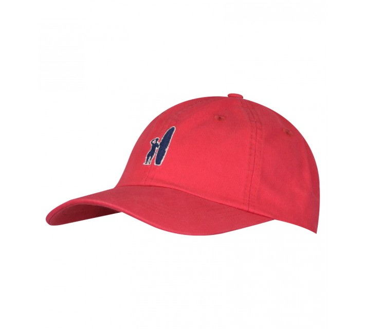 JOHNNIE-O TOPPER HAT RED - SS16