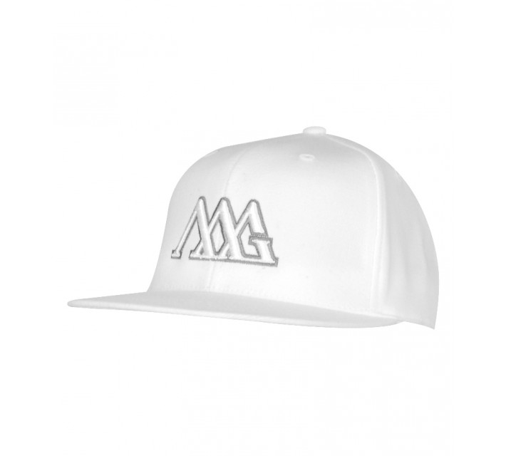 MATTE GREY FITTED TOUR CAP WHITE - SS15