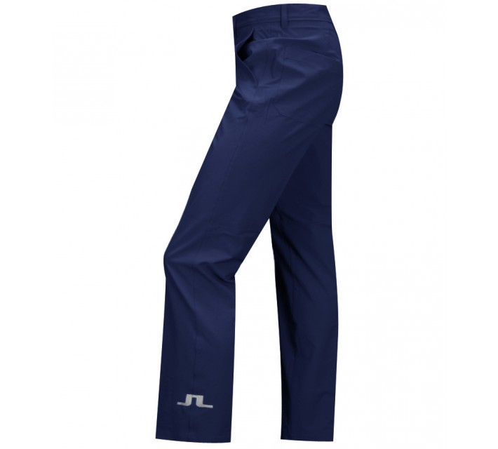 J. LINDEBERG TOUR MICRO STRETCH GOLF PANTS NAVY PURPLE - SS15