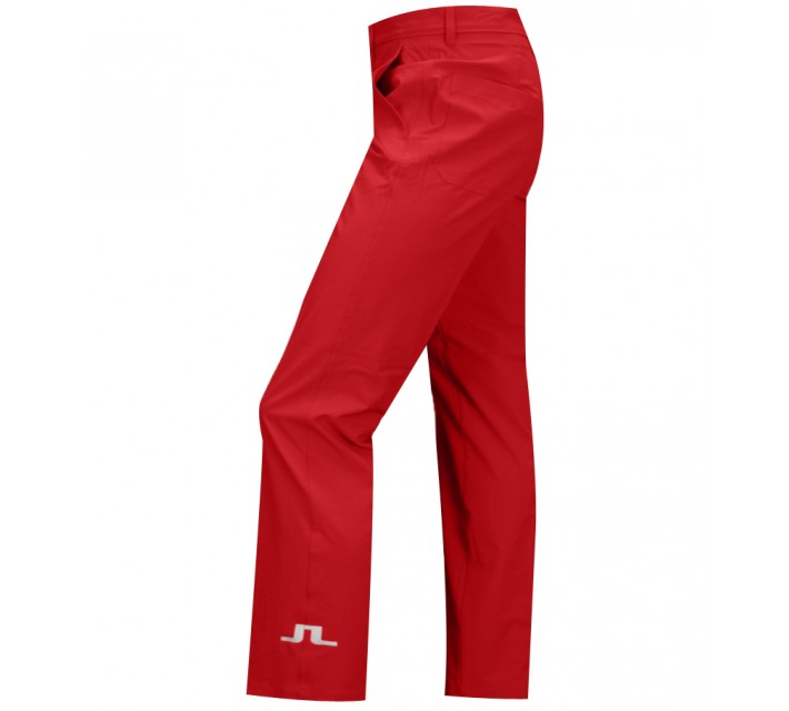 J. LINDEBERG TOUR MICRO STRETCH GOLF PANTS RED INTENSE - SS15