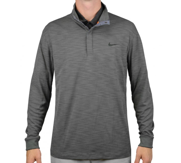 NIKE L/S TRANSITION CHAMBRAY DK GREY - AW15 CLOSEOUT