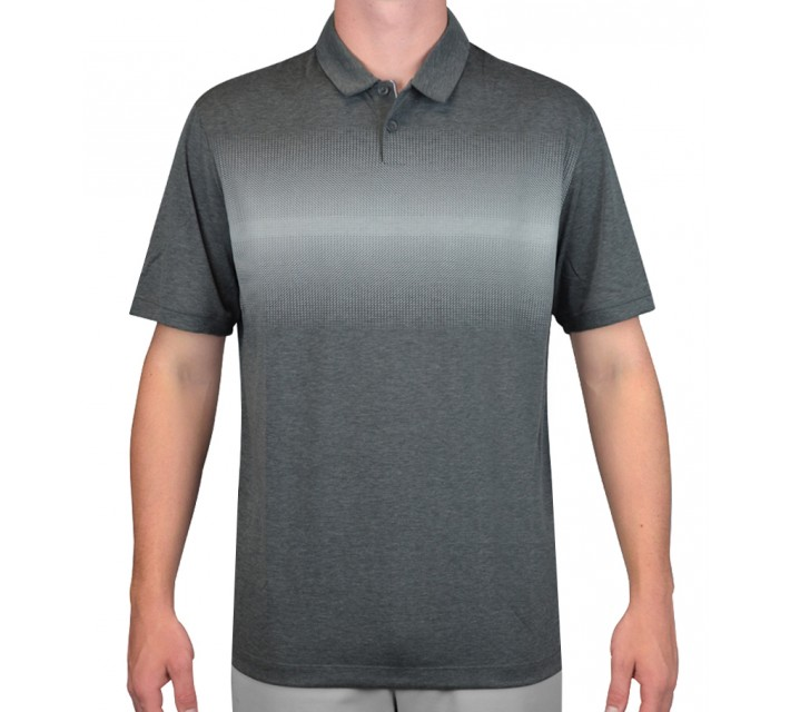 NIKE TRANSITION PRINT POLO DARK GREY - AW15 CLOSEOUT