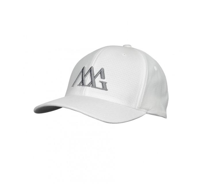 MATTE GREY TRICOT ICONOLINE CAP WHITE - SS16