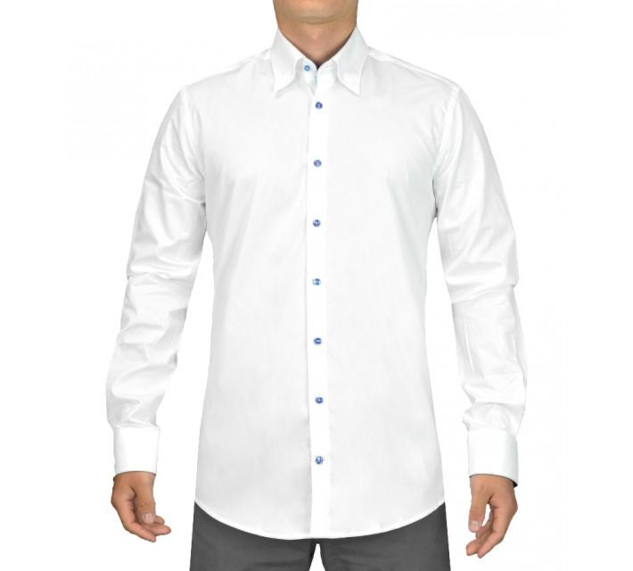G-MAC TROON WOVEN SHIRT WHITE - SS15