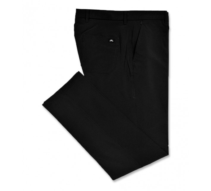 J. LINDEBERG TROON 2.0 MICRO STRETCH PANT BLACK - AW16