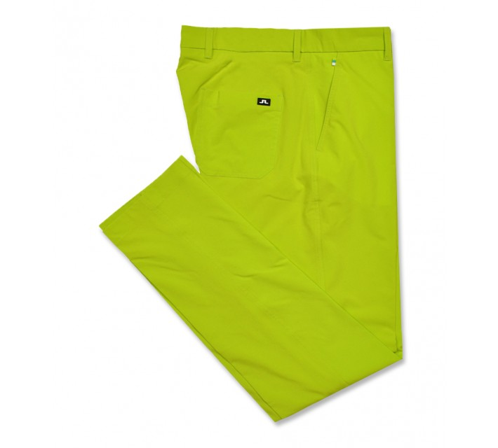 J. LINDEBERG TROON 2.0 MICRO STRETCH PANT LIME - AW16