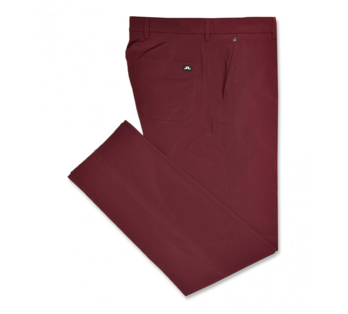 J. LINDEBERG TROON 2.0 MICRO STRETCH PANT PLUM - AW16