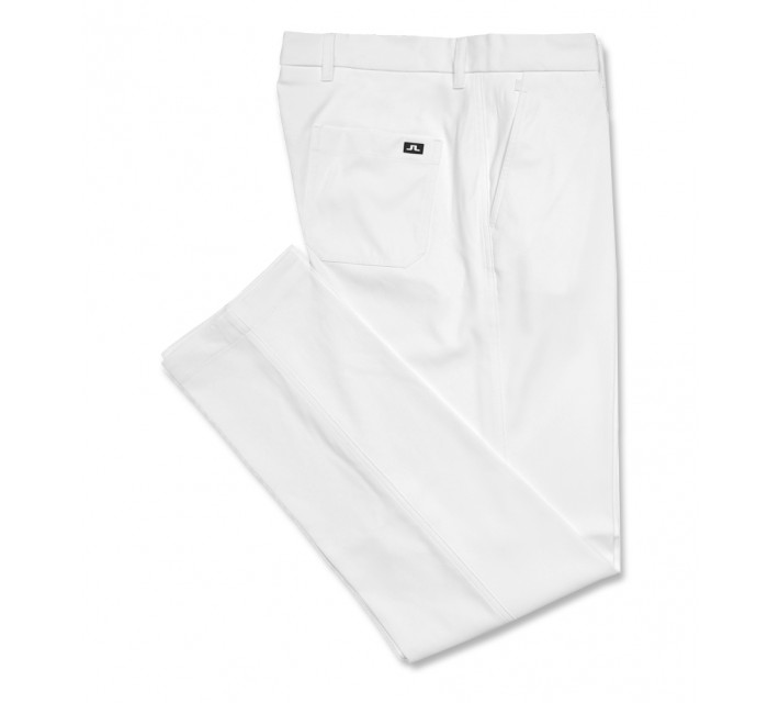 J. LINDEBERG TROON 2.0 MICRO STRETCH PANT WHITE - SS17