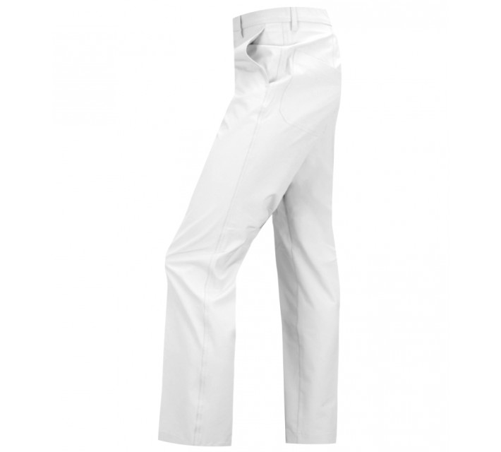 J. LINDEBERG TROON MICRO STRETCH GOLF PANTS WHITE - SS16