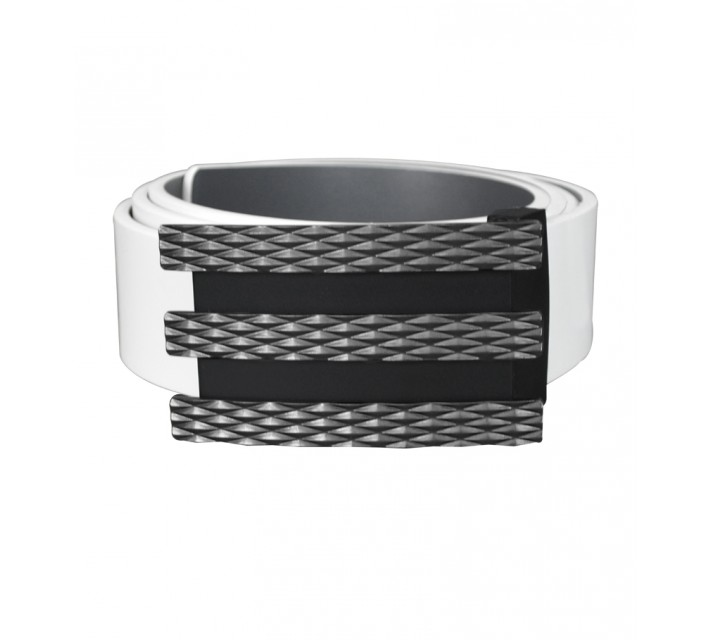 ADIDAS TROPHY REVERSIBLE BELT WHITE/LEAD - AW15