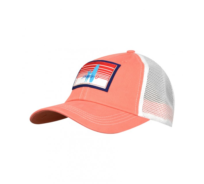 JOHNNIE-O TRUCKER HAT CORAL REEF - SS16
