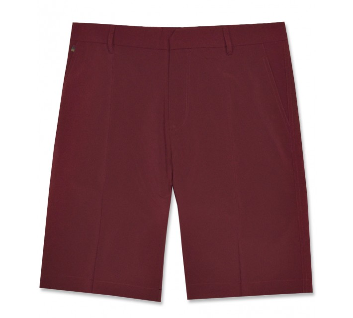J. LINDEBERG TRUE 2.0 MICRO STRETCH SHORT PLUM - AW16