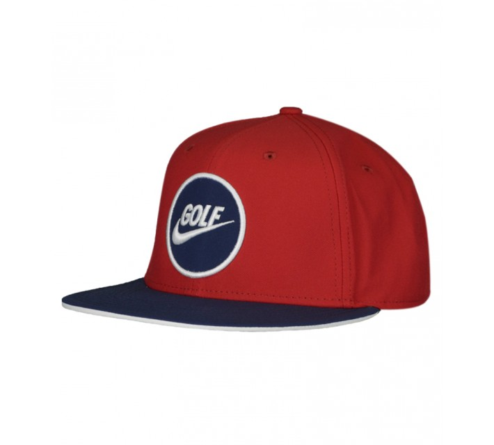 NIKE GOLF O TRUE CAP GYM RED/MIDNIGHT NAVY - AW15 CLOSEOUT