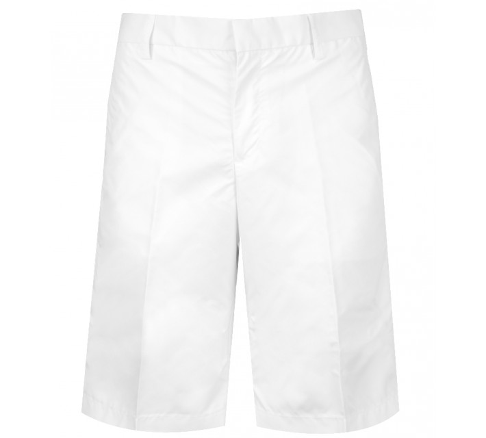 J. LINDEBERG TRUE MICRO TWILL SHORTS WHITE - CORE