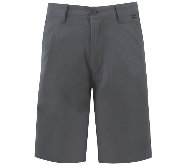 TRAVISMATHEW GOLF SHORTS TURN-FLEX DARK GREY - SS16