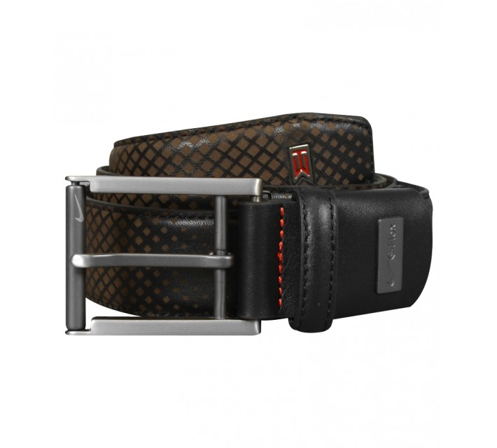 TIGER WOODS TW LASER G-FLEX BELT BELT BLACK - AW15 CLOSEOUT