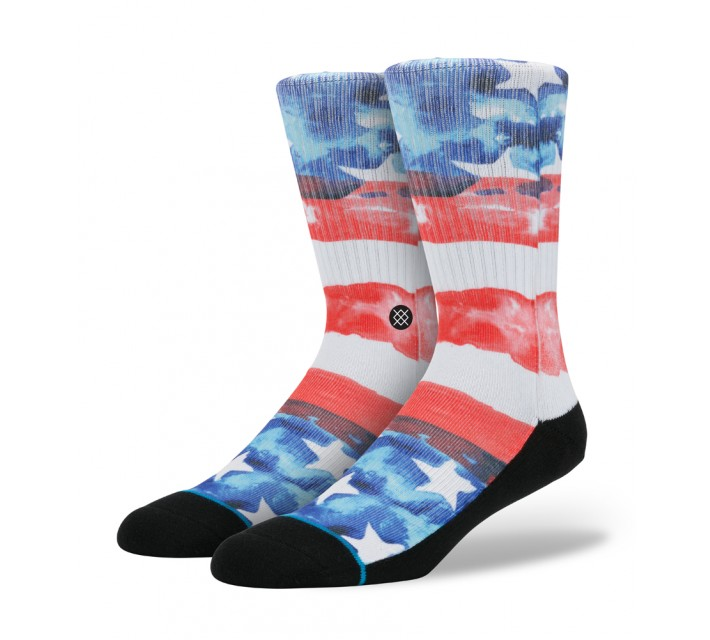 STANCE GOLF SOCKS U.S.A. RED - SS16