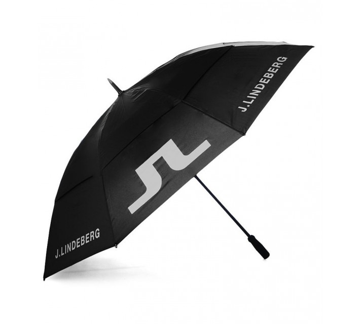 J. LINDEBERG UMBRELLA BLACK - SS16