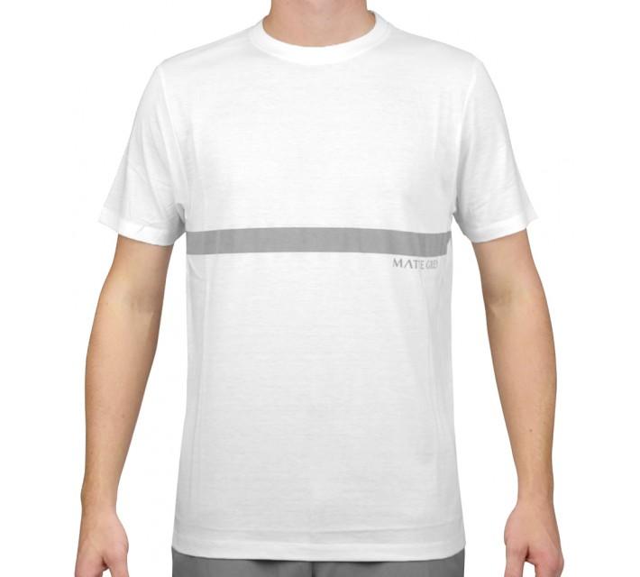 MATTE GREY UNDER PAR T-SHIRT WHITE - AW15