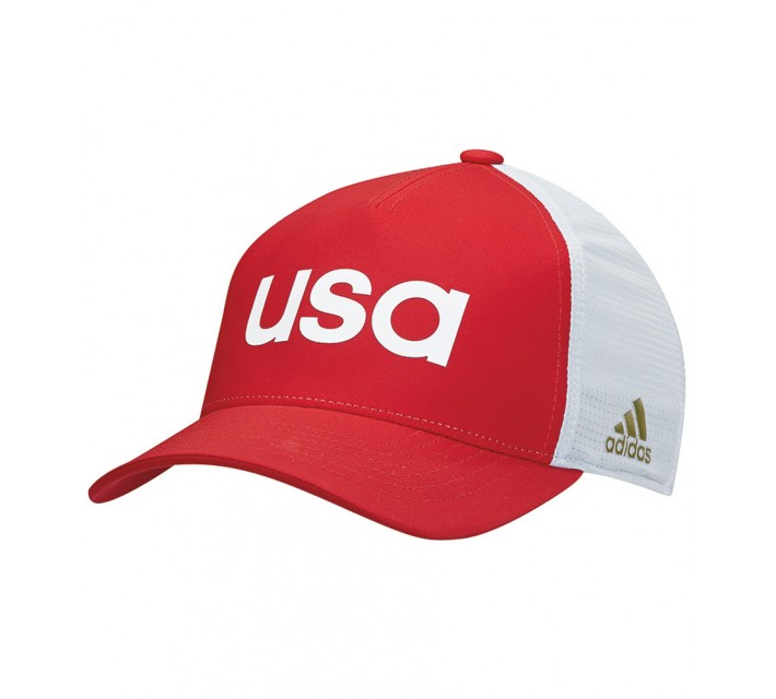 ADIDAS 2016 OLYMPICS TEAM USA HAT POWER RED - AW16