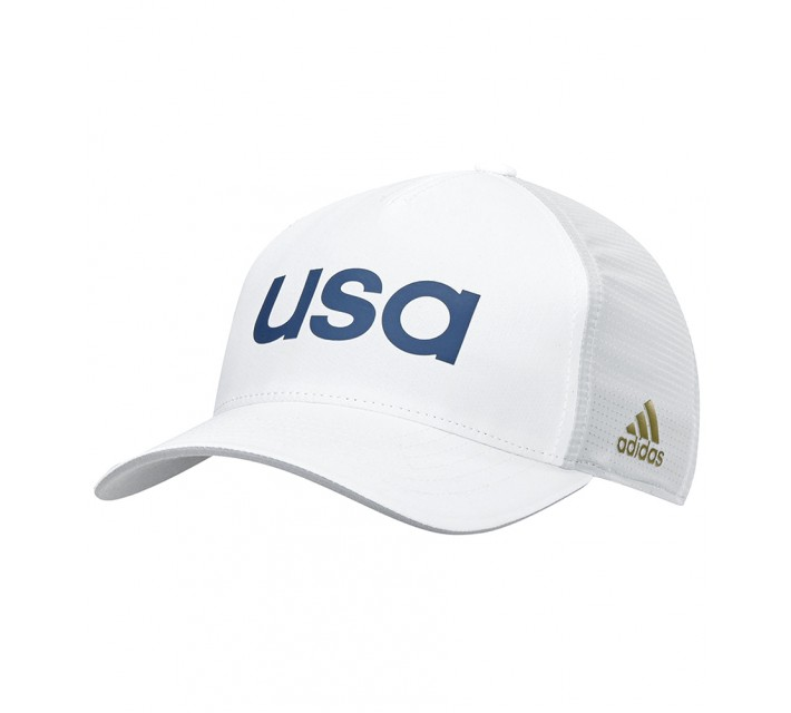ADIDAS 2016 OLYMPICS TEAM USA HAT WHITE/CLEAR - AW16