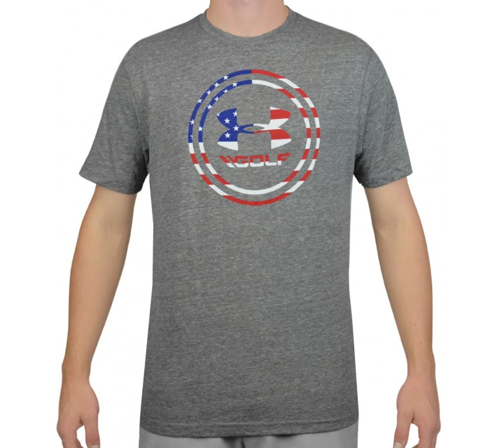 UNDER ARMOUR LIMITED EDITION USA GOLF TEE LEGACY GREY - AW15