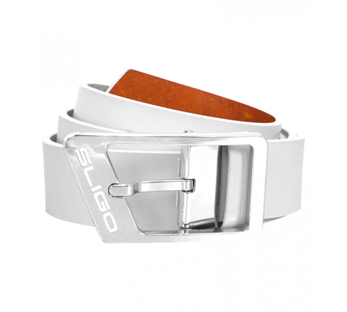 SLIGO VIBE GOLF BELT WHITE - AW15