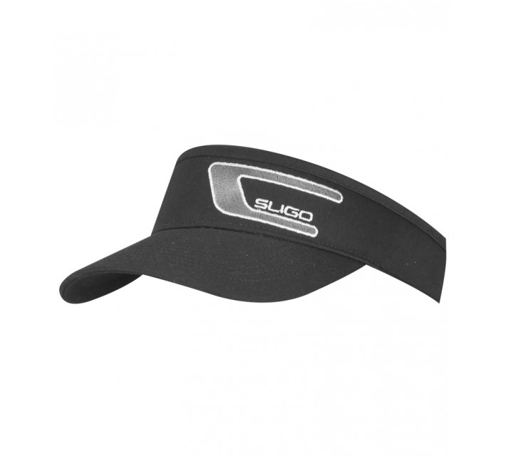SLIGO TOUR EMBROIDERED VISOR BLACK