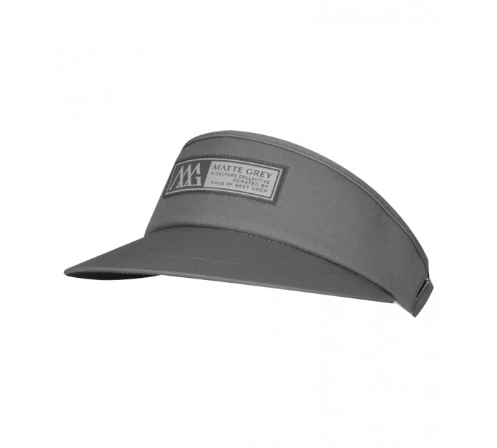MATTE GREY HORIZON VISOR FROST GREY - SS15