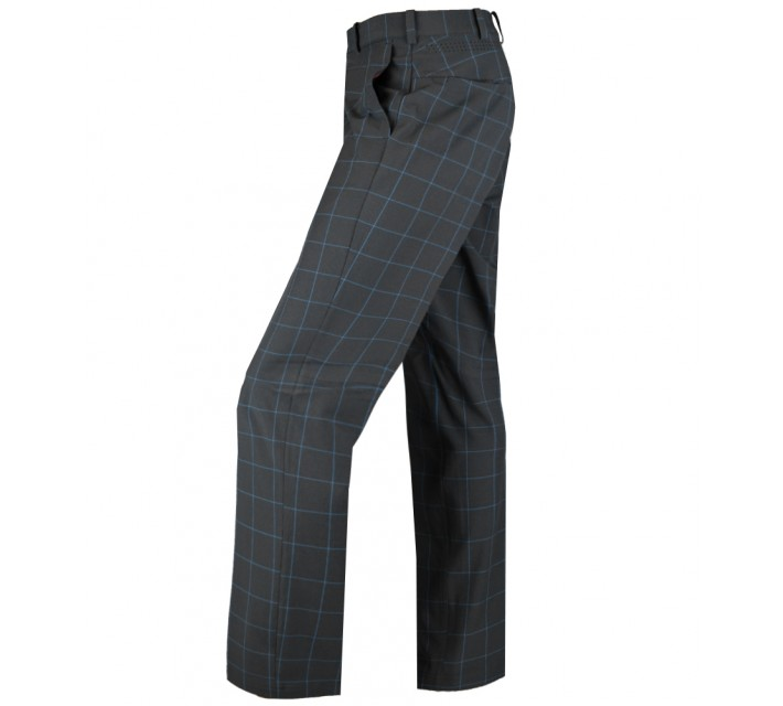 TIGER WOODS WEATHERIZED PLAID PANT DARK GREY/PHOTO BLUE - AW15 CLOSEOUT