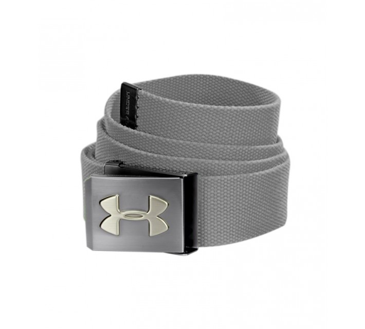UNDER ARMOUR WEBBING BELT STEEL - SS16