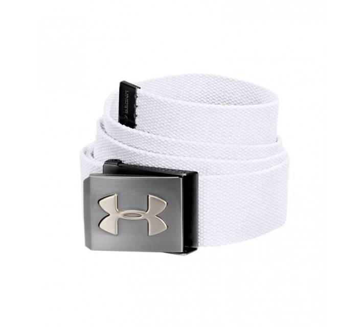 UNDER ARMOUR WEBBING BELT WHITE - AW16