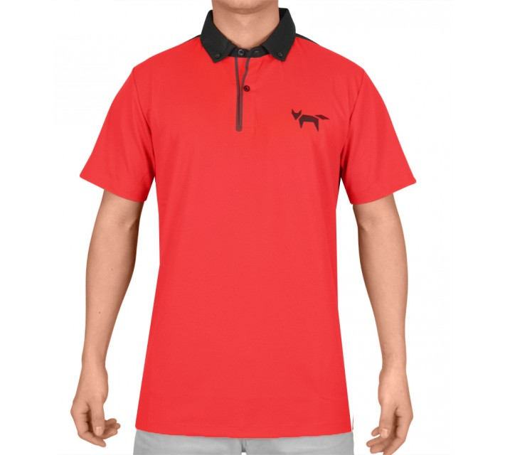 WOLSEY WELDED POLO RED - SS15