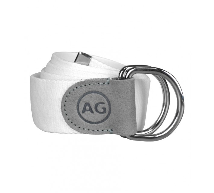 AG GREEN LABEL THE FLAGSHIP BELT BRIGHT WHITE - SS16