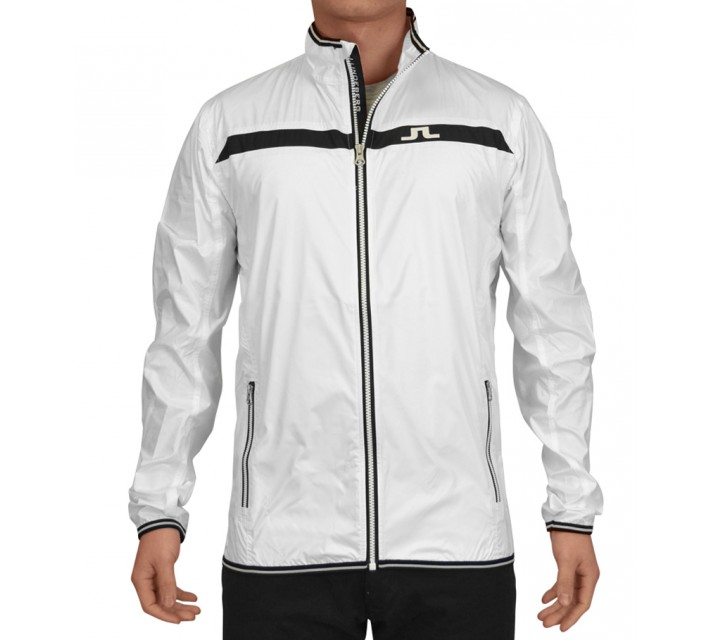 J. LINDEBERG WIND JACKET WINDPRO WHITE - AW15
