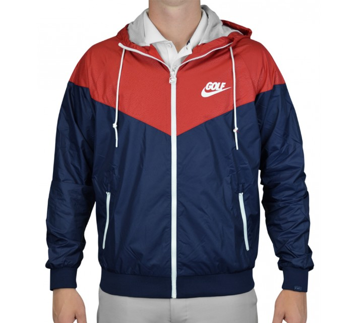 NIKE GOLF O WINDRUNNER MIDNIGHT NAVY - AW15 CLOSEOUT