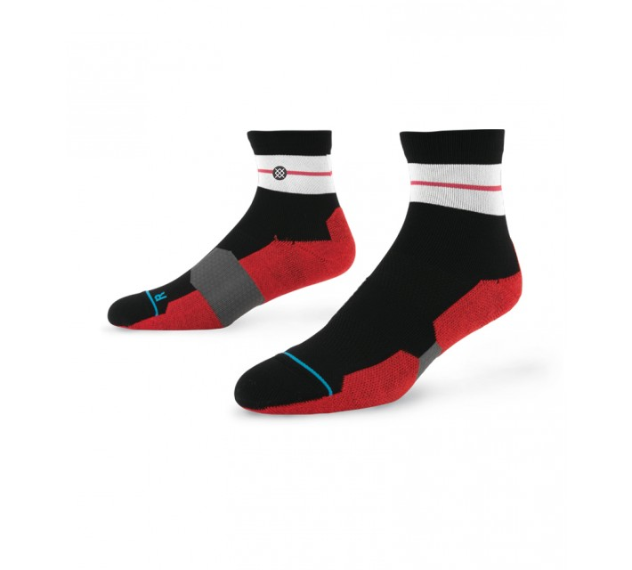 STANCE GOLF SOCKS WOLF QUARTER BLACK - AW15