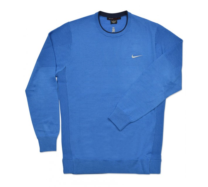 TIGER WOODS WOOL SWEATER LIGHT PHOTO BLUE - SS16 CLOSEOUT