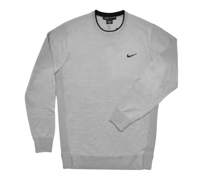 TIGER WOODS WOOL SWEATER WOLF GREY - SS16 CLOSEOUT