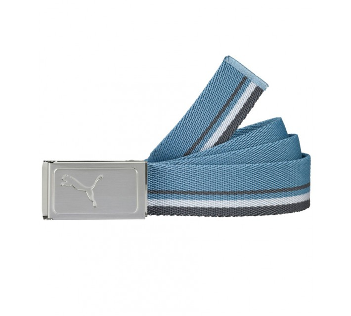 PUMA WORKS WEB BELT BLUE HEAVEN/WHITE - SS16