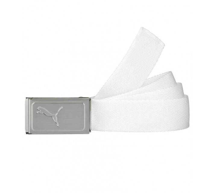 PUMA WORKS WEB BELT WHITE - AW16