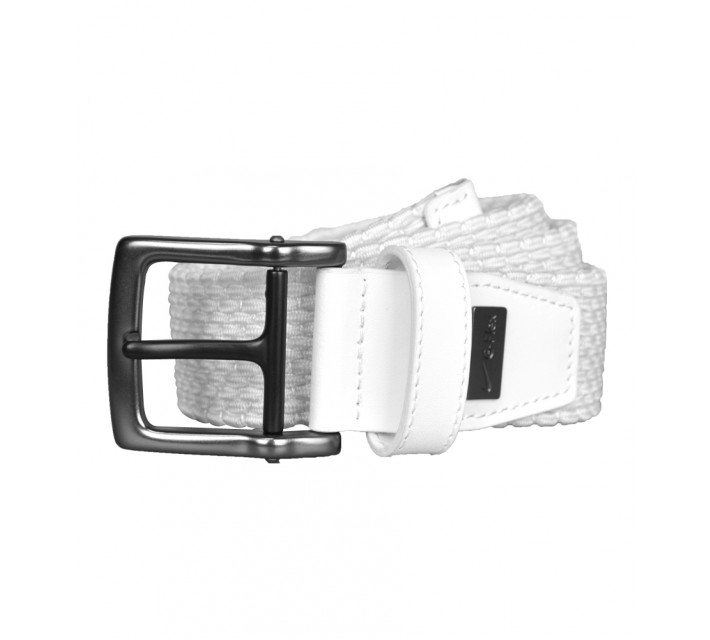 NIKE STRETCH WOVEN BELT WHITE - AW16