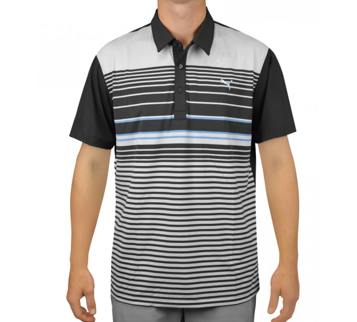 PUMA YD STRIPE POLO PERISCOPE - AW15