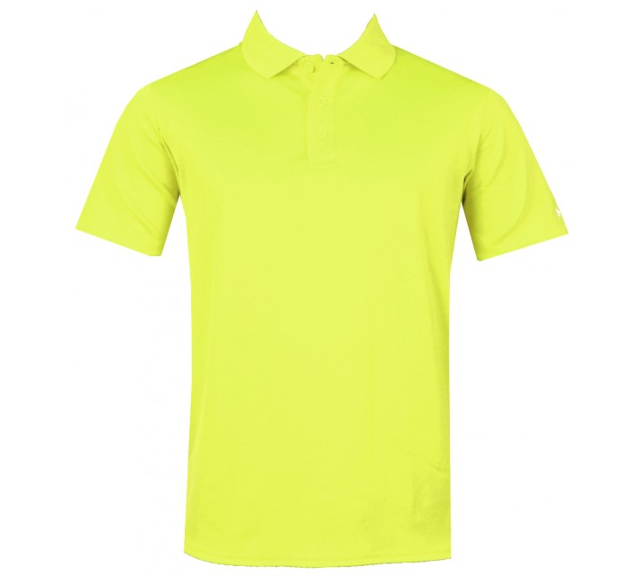 UNDER ARMOUR YOUTH BOYS PERFORMANCE POLO HI VIS YELLOW - AW15