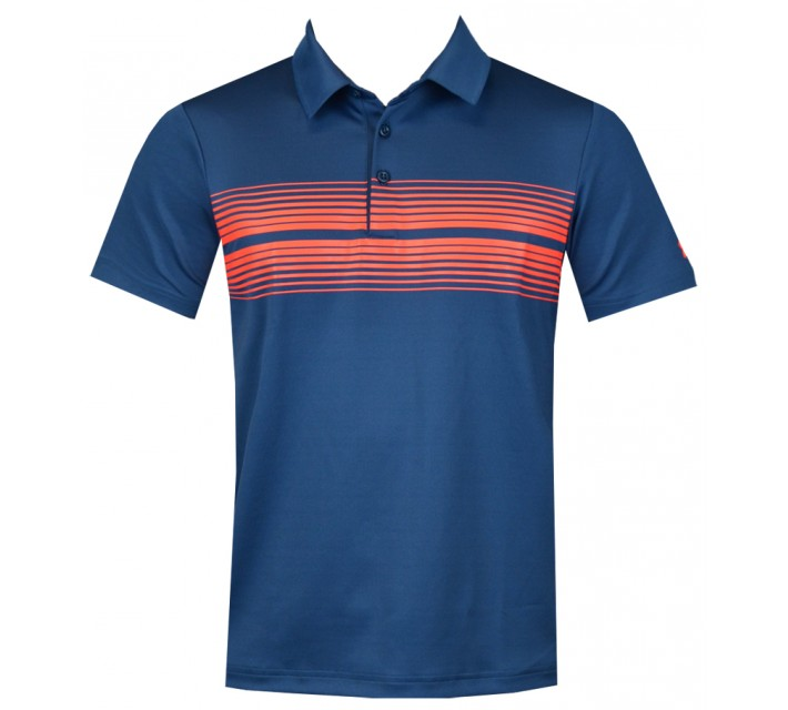 UNDER ARMOUR YOUTH BOYS PULSE POLO PETROL/BOLT - AW15