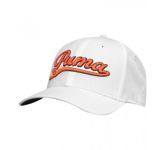 PUMA YOUTH BOYS SCRIPT COOL CELL SNAPBACK CAP WHITE - AW15